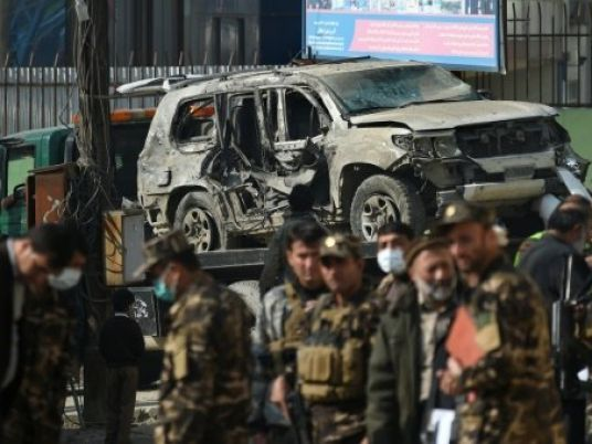 Suicide bomber in Afghan city kills three, wounds 14