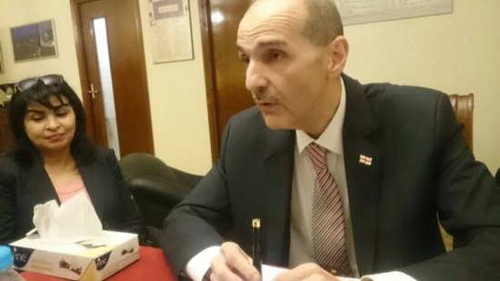 Ambassador of Georgia: Egypt is a very important tourist destination