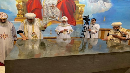 Pope Tawadros inaugurates the fifth Church during his pastoral visit to Germany