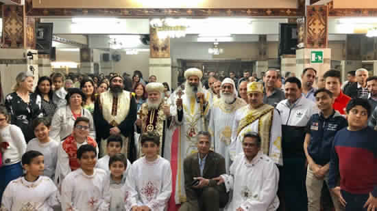 Bishops of Suhag and Turin ordain new deacons in Rome