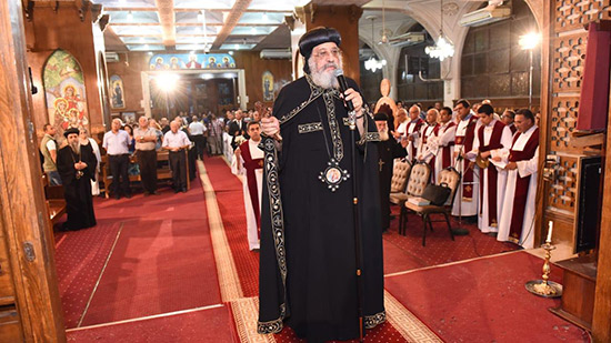 Pope Tawadros congratulates the Copts on the feast of the Virgin Mary