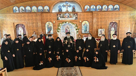 Pope Tawadros ordains 7 new nuns at St. George Monastery in Haret Zewaila