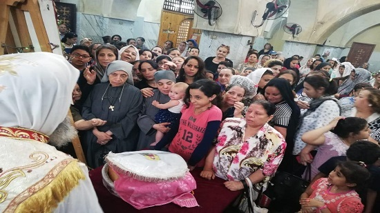 Bishop of Helwan heads the feast of St. Parsoum the Naked
