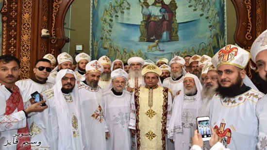 A new priest ordained in Beni Suef
