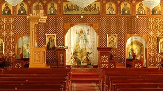 Coptic Church in America holds masses without people