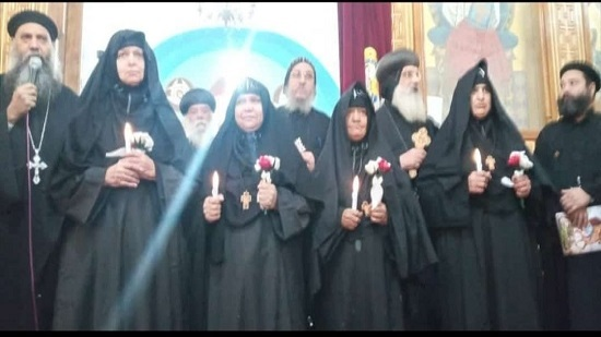 4 new nuns ordained at the Virgin and the martyr Wadmon monastery in Armant