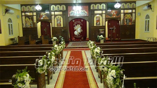 The Church of princes Tadros al-Shatbi and al-Sharqi in Asmarat opened