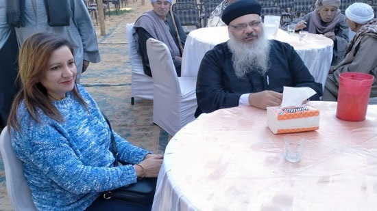 Coptic priest participates in the inauguration of the Azhari Institute in Qena