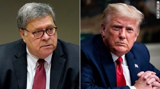 Bill Barr has sounded the death knell on Trumps wild claims