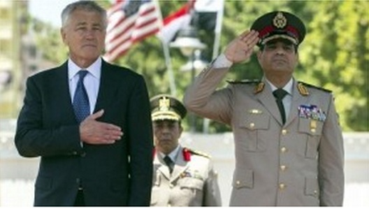 Al-Sisi to Hegel: This is not the right way to talk to Egypt